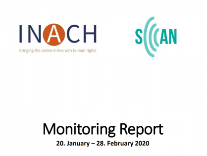 Monitoring Report 20. January – 28. February 2020