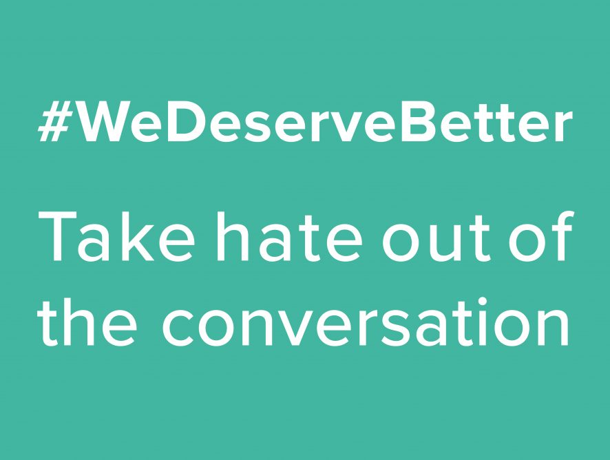 #WeDeserveBetter campaign
